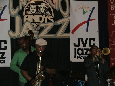Junius Paul, Greg Osby & Corey Wilkes